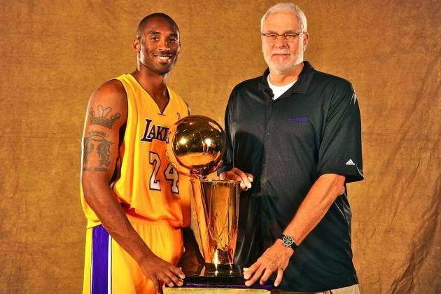 Phil Jackson: Kobe Bryant Like 'A Son' to Him