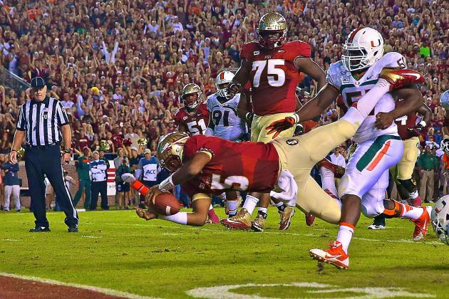 BCS Rankings 2013: If Both Stay Unbeaten, Math Not There for FSU to Pass Oregon