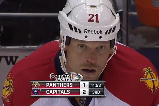 Florida Panthers' Krys Barch Pulls out Tooth, Gives It to Fan as Souvenir