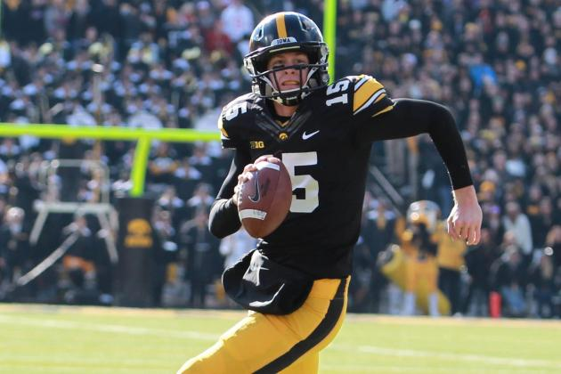 Iowa Offense Better, but Not Electric