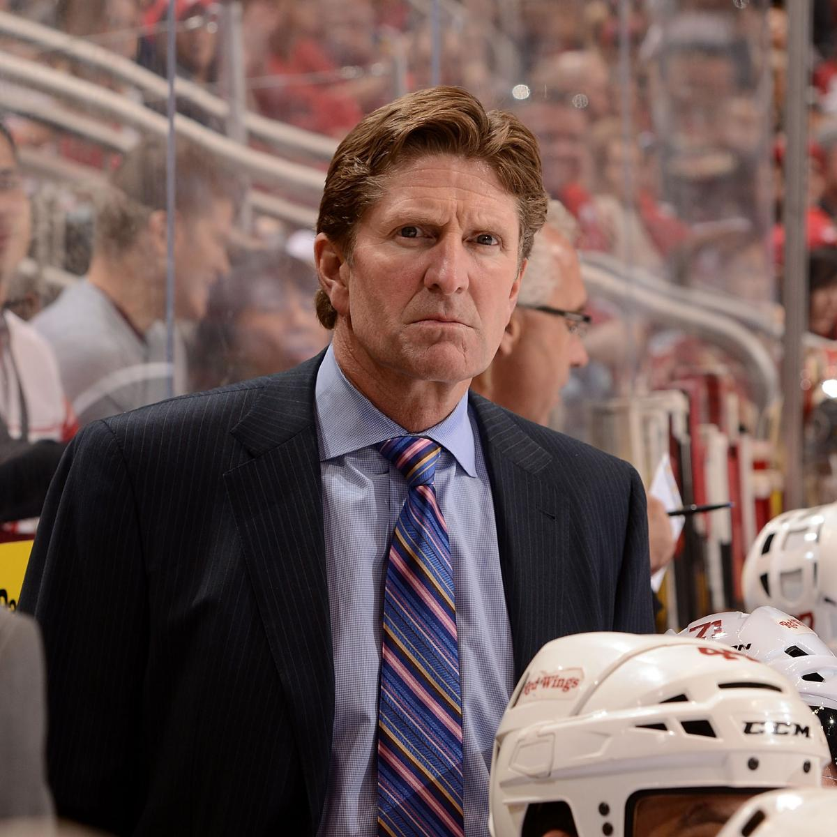 Grading Mike Babcock's Performance with Detroit Red Wings ...