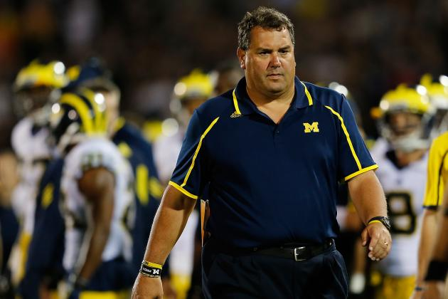 Michigan Wolverines Football Is Not 'Back' Under Brady Hoke