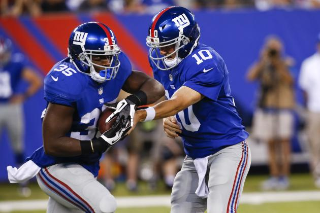 Giants Give Running Back Andre Brown a Special Package of Plays