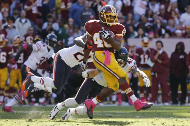What to Expect from Alfred Morris, Redskins Offense in Week 10 Matchup
