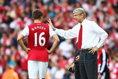 Aaron Ramsey's Incredible Start to Season Is a Feather in Wenger's Cap