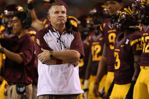 Arizona State Coaches Experience Terrifying Airplane Scare on Recruiting Trip