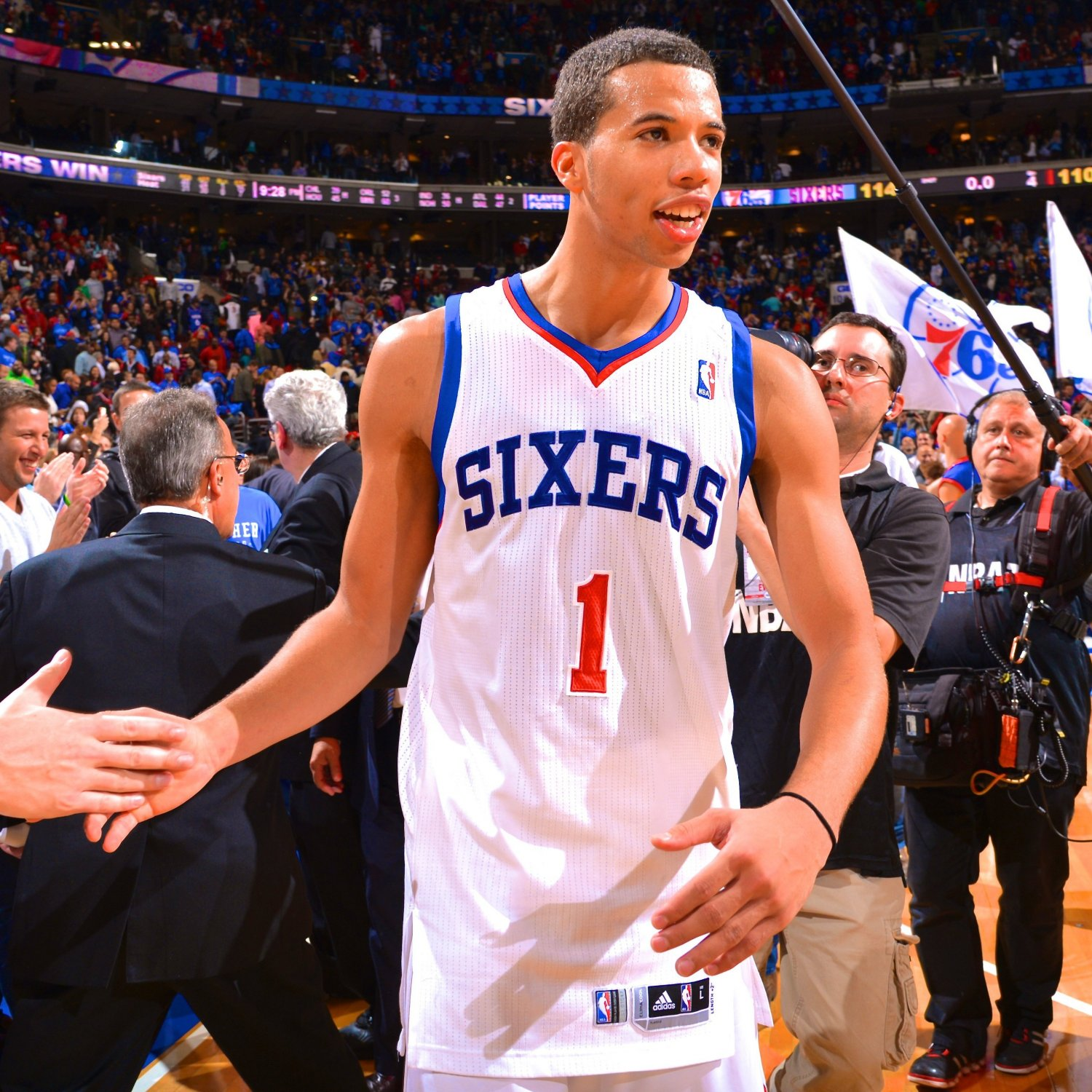 76ers Rookie Michael Carter-Williams Named Eastern