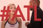 Hawks' Cheerleaders Take on 'Blurred Lines'