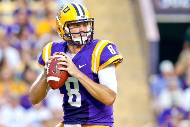 LSU QB Zach Mettenberger Broke out vs. Alabama in 2012, Will He Do It Again?