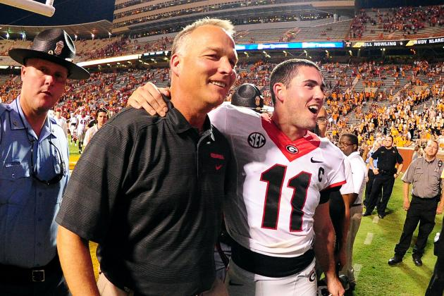 Georgia Football: How Aaron Murray Saved Mark Richt's Job