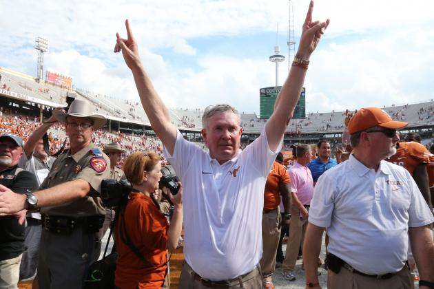 Mack Brown Thinks Texas Should Be Ranked: Is He Right?
