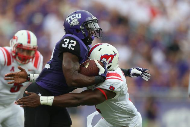 TCU RB Waymon James Suspended for Violating Team Rules