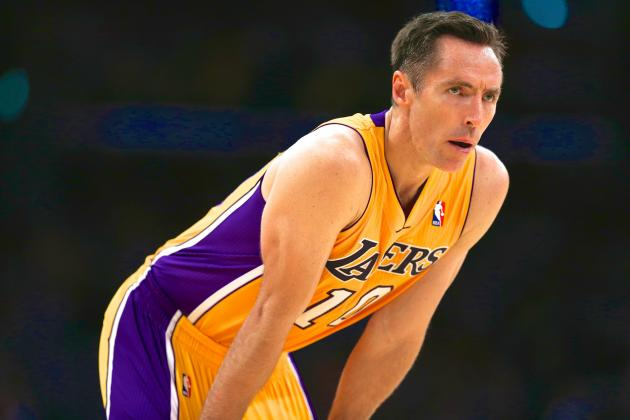 Steve Nash Injury: Updates on Lakers Guard's Leg, Likely Return Date