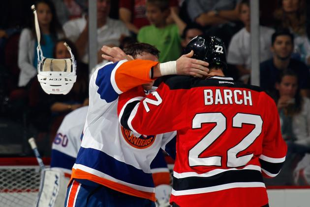 Krys Barch Sounds off on NHL Fighting: Why Turn Hockey into a 'Boys' Game?