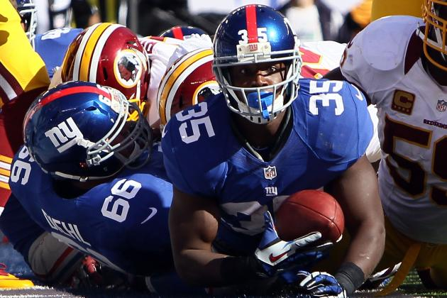 New York Giants Must Perform Running Back Juggling Act Moving Forward