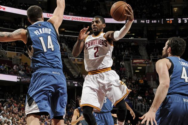 Best and Worst of Kyrie Irving on Display in Cavs' Near-Choke