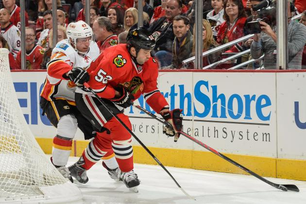 Chicago Blackhawks: Brandon Bollig Is Earning His Keep on the Fourth Line