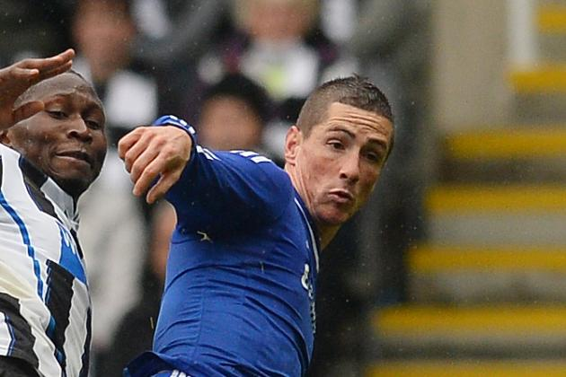 Fernando Torres Doubt for Chelsea's Schalke Tie with Thigh Injury