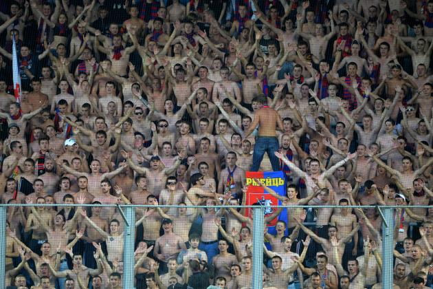 CSKA Fans Arrested on Flight to Man City Clash