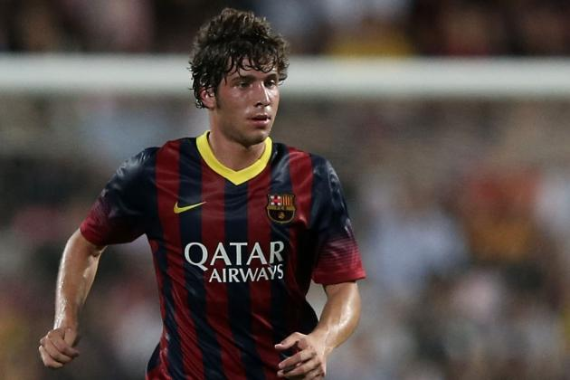 Sergi Roberto Reportedly the Target of Liverpool and Tottenham Transfer Bids
