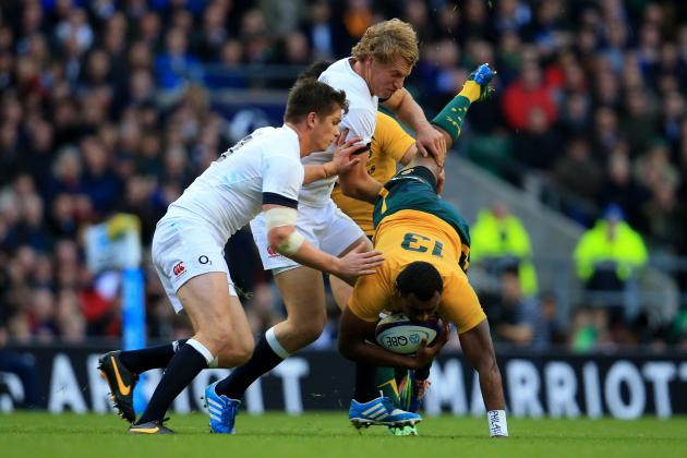 The Biggest Hits in World Rugby This Week, England and Australia Clash