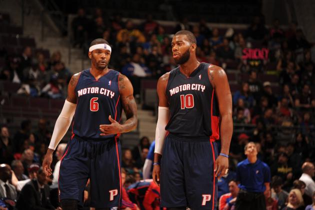 Detroit Pistons' Massive Front Line Proving They Can Thrive Together