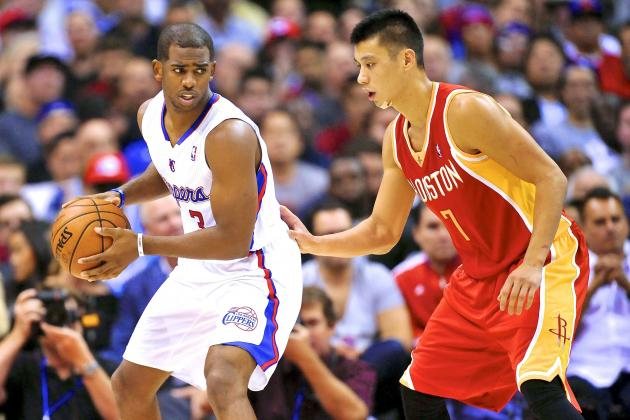Clippers' Chris Paul Shows Off a Series of Crossovers vs. Rockets' Jeremy Lin