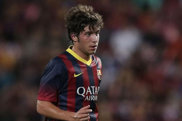 Barcelona Can't Afford to Let Sergi Roberto Become Thiago Alcantara Mark II