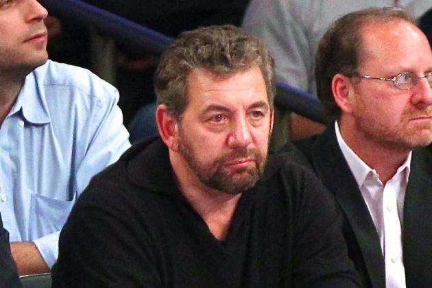 Knicks Owner James Dolan Reportedly Wants NY's Dancers to Stop Dancing