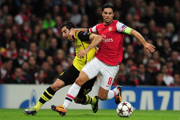 How Arsenal Will Line Up Against Borussia Dortmund