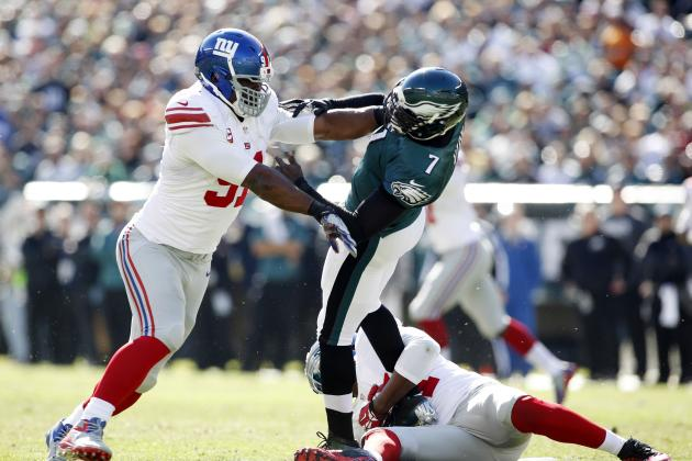 Justin Tuck Quietly Among NFL's Best DE in 2013
