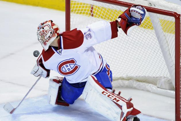 Carey Price Earns Molson Cup Honour for October