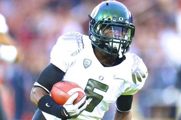 De'Anthony Thomas Believes Oregon Will Score at Least 40 Points on Stanford