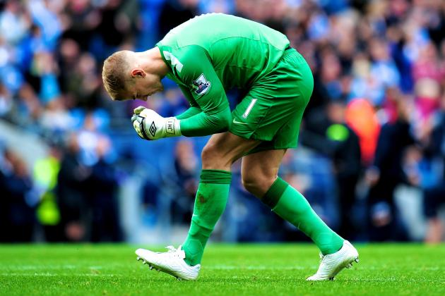 Joe Hart Thinks Manchester City Axe Is a Good Idea, Says Manuel Pellegrini