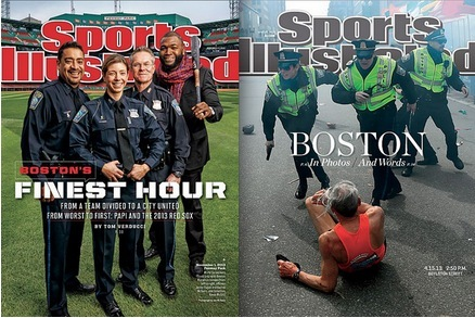 'Sports Illustrated' Cover Features David Ortiz with Marathon First Responders
