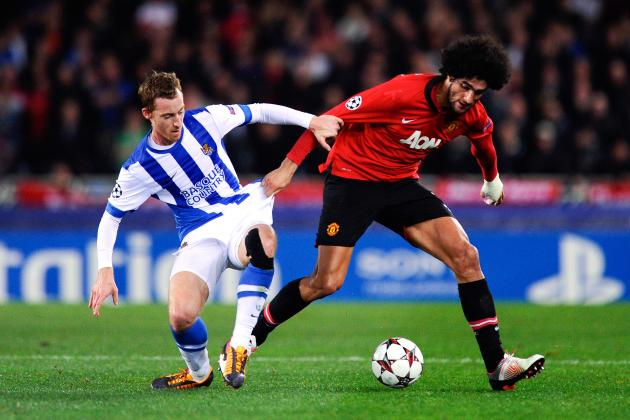 Real Sociedad vs. Manchester United: Live Player Ratings for Manchester United