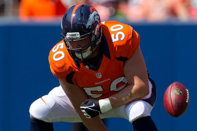 J.D. Walton Returns, John Moffitt Leaves Broncos