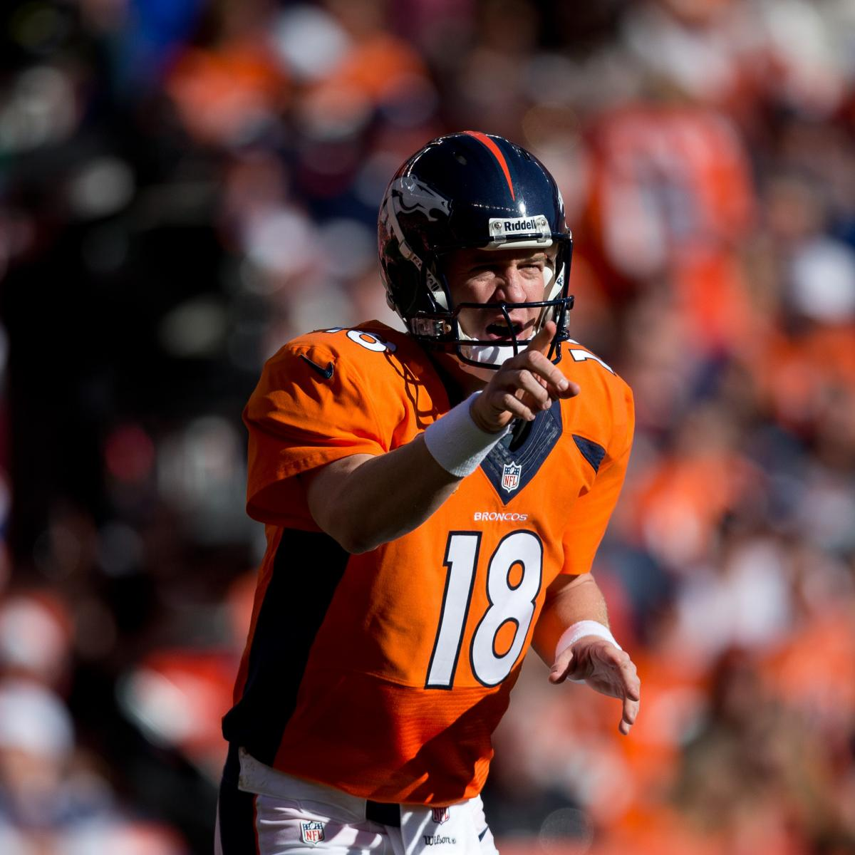San Diego Chargers Bye Week 2014: Peyton Manning Will Shred San Diego Chargers Defense After
