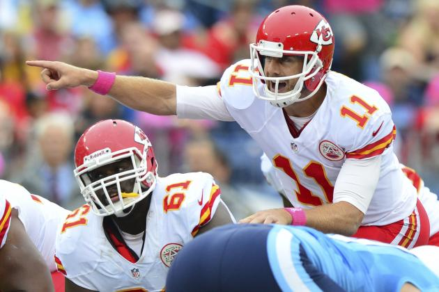 Alex Smith's Monday Presser Transcript