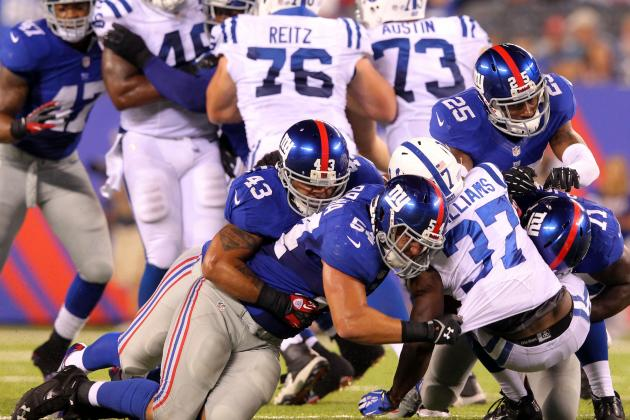 Giants Shed Shaky Start with Strong Defense