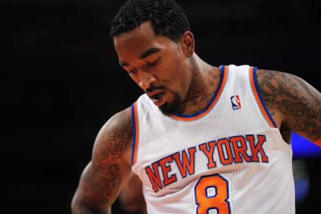 How Will NY Knicks Fit J.R. Smith Back into Already Crowded Backcourt?