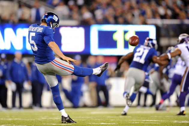 Breaking Down the New York Giants' Special Teams Struggles