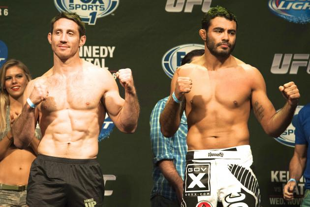 UFC Fight for the Troops 3 Weigh-in Results, Play by Play and Video Highlights