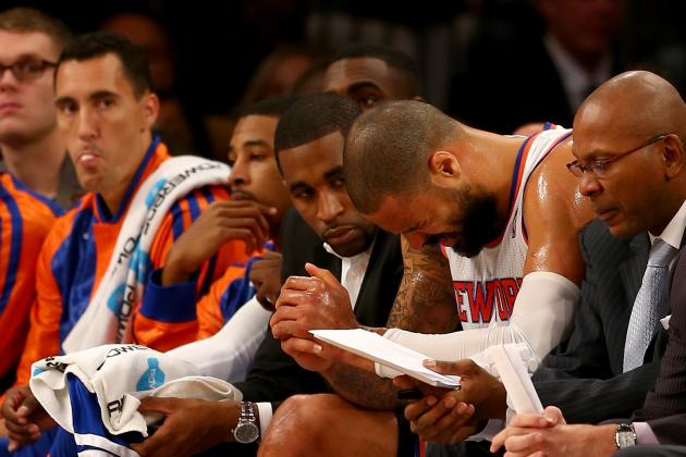 Knicks Nation Holds Collective Breath After Tyson Chandler Injury