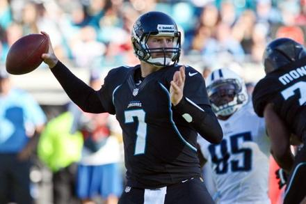 Chad Henne: Recapping Henne's Week 11 Fantasy Performance