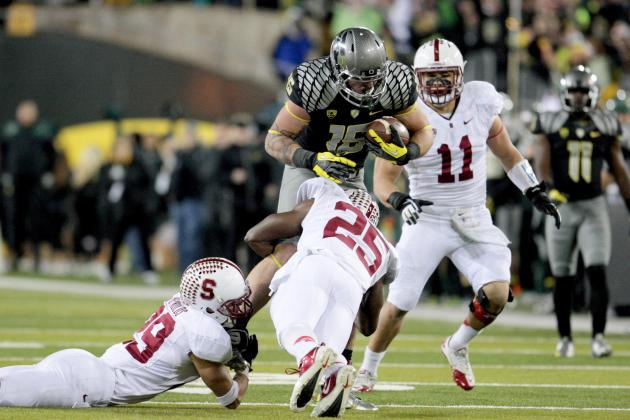 Oregon's Defense Wary of Physical Stanford