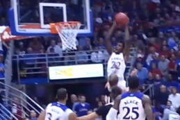 Watch: Wiggins Shines, Throws Down Sick Oop