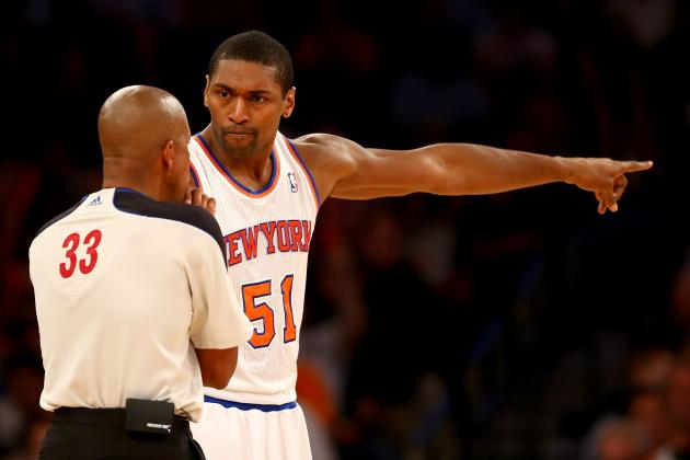 Is Metta World Peace the New York Knicks' Biggest X-Factor?