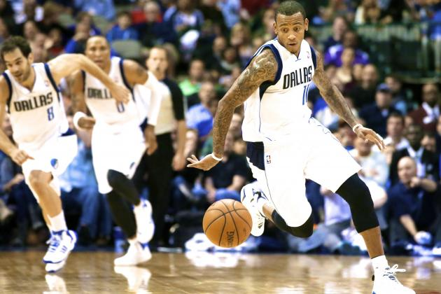 Monta Ellis Thriving in New Co-Pilot Role for Dallas Mavericks