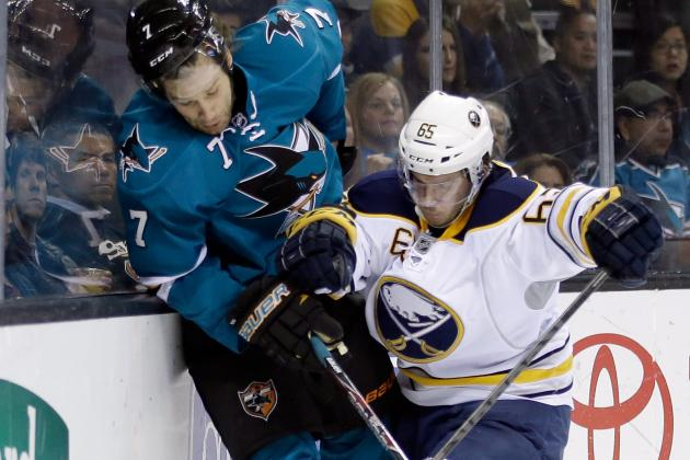 Struggling Sabres Beat Sharks 5-4 in Shootout